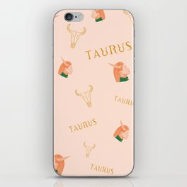 Taurus iPhone Skin