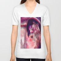 john snow V-neck T-shirts featuring John by Joe Ganech