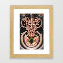 Bouquet. 3D Abstract Fractal Design Framed Art Print