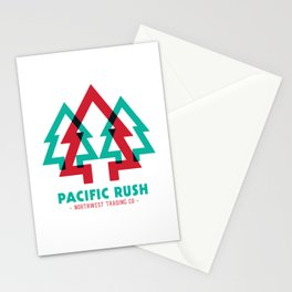 Pacific Rush Trees Stationery Cards