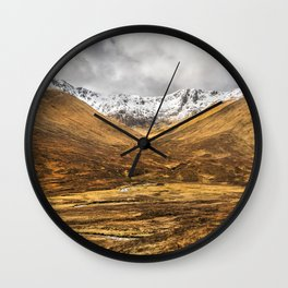 Golden Valley. Wall Clock