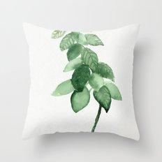 Plant 3 Throw Pillow