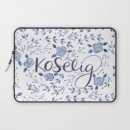 Koselig - Blue Laptop Sleeve