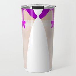 Lingeramas - Sexy Pink Lingerie Legging Pajamas Travel Mug
