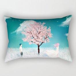 When We Meet Rectangular Pillow