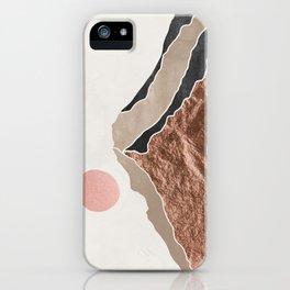 Mount Hood Oregon - Daylight Wilderness iPhone Case
