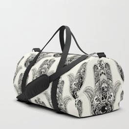 Hamsa Hand French Bulldog Duffle Bag