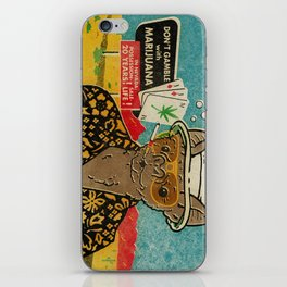 This is Bat Country iPhone Skin