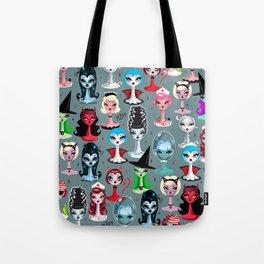 d9c388b66b48 Spooky Dolls Tote Bag