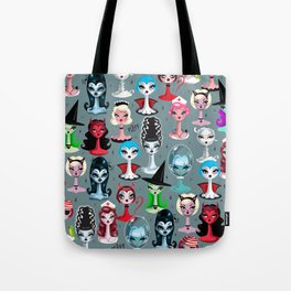 Spooky Dolls Tote Bag