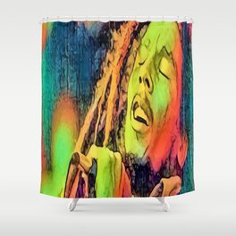 Artistic Marley Shower Curtain