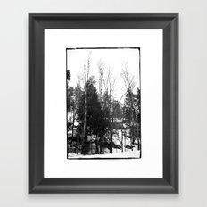 Norwegian forest VII Framed Art Print