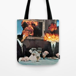 Every Act of Creation is First an Act of Destruction Tote Bag