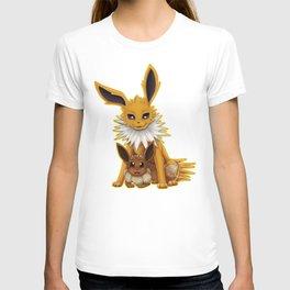 Jolteon and Eevee Pup T-shirt