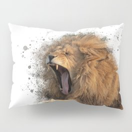 A Roaring Picture Pillow Sham