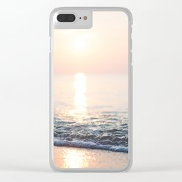 Summer Breeze Clear iPhone Case