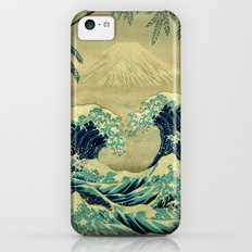 The Great Blue Embrace at Yama Slim Case iPhone 5c