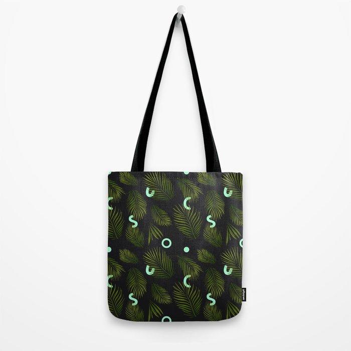Tropical Neon Tote Bag
