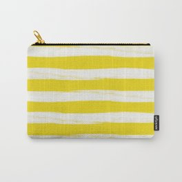 rusty yellow gross stripes Carry-All Pouch