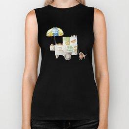 Hot Dog Truck Biker Tank