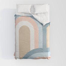 Retro Rainbow connections 4 Comforters
