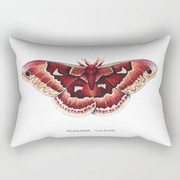 Promethea Silkmoth (Callosamia promethea) Rectangular Pillow