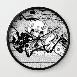 Joysticks collection Wall Clock