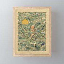 Washed Framed Mini Art Print