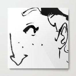 Ink eye Metal Print
