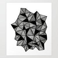 Geometrics Art Print