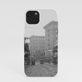 St. Charles Street from Canal, New Orleans, LA iPhone Case