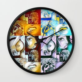 JUICE EXPRESSIONS Wall Clock