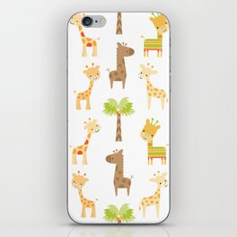 Giraffes iPhone Skin