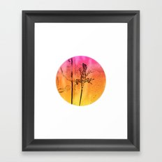 Abstract colors in everywhere Framed Art Print