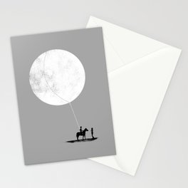 do you want the moon? Stationery Cards