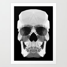 Polygon Heroes - Crystal Skull Art Print