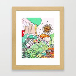 Common Ground Framed Art Print