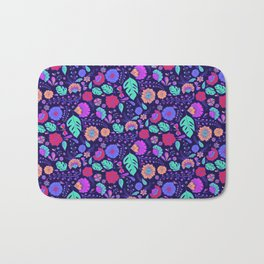 Tropical Midnight Bath Mat