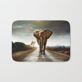 The Elephant Bath Mat