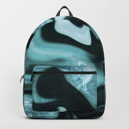 Amazonite marbled pattern Backpack