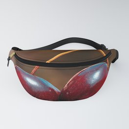 Cherry fruit close up Fanny Pack