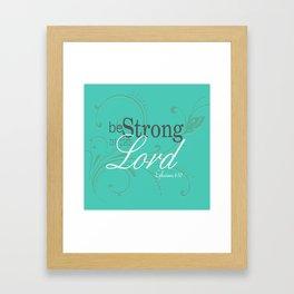 Inspirational Encouragement Framed Art Print
