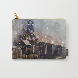 Church At Christm Carry-All Pouch