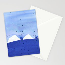 Bright blue series #4 Stationery Cards