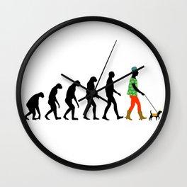 Modern Man Wall Clock