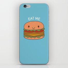 Kawaii Cute Burger iPhone Skin
