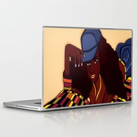 coco Laptop & iPad Skins featuring Coco by Courtney Ladybug Johnson