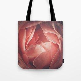 Pastel pink rose flower blossom Tote Bag