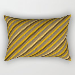 Geometric Azteca Pattern Rectangular Pillow