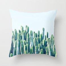 Cactus V2 #society6 #decor #fashion #tech #designerwear Throw Pillow